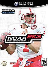 NCAA College Football 2K3 (Nintendo GameCube, 2002)