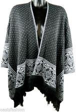 Châles/écharpe gris en acrylique pour femme