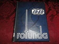 1949 University of Southern Methodist SMU ROTUNDA College Yearbook ~ Doak Walker