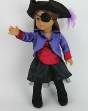 "18"" Doll Clothes Pirate Girl Costume Halloween fits American Girl Doll Pirate"