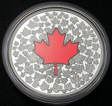 2013 Canada RCM $20 Pure Silver Coin - Maple Leaf Impression - with Box and COA