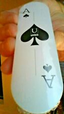 """Umbra Ante Slim Playing Cards - CARDS 5"""" X 1.5"""" - CASE 6.5"""" - VERY MODERN FLAIR"""