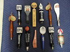 13 Draft Beer Tap Handles Breweriana