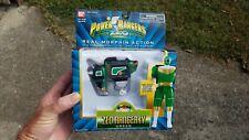 """Vintage unopened Power Rangers ZEO 5"""" Green Morphin Ranger lV 1996"""