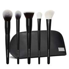 Morphe FACE THE BEAT 5-Piece Face Brush Collection + Bag