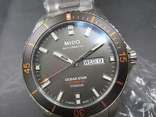 MIDO OCEAN STAR MEN'S WATCH AUTOMATIC ALL TITANIUM SAPPHIRE M0264304406100
