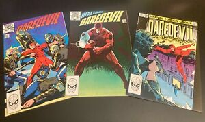 Wow! *23* DAREDEVIL! 192-3,195-6,199,205-6,209,211-222,224,226,233 Mostly NM-