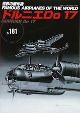 DORNIER Do 17 Japanese book Military Aircraft of the world