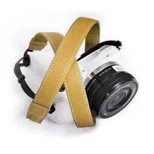 MATIN LAFFINITA 20 (YE) Shoulder Neck Leather D-SLR RF Mirrorless Camera Strap