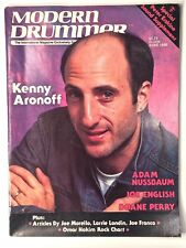 Kenny Aronoff DRUMS & CYMBALS Modern Drummer Magazine Back Issue June 1986