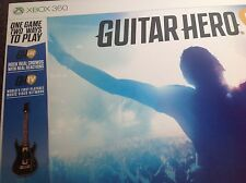 Guitar hero live xbox 360 guitare & jeu inclus. new & sealed pal. free uk post
