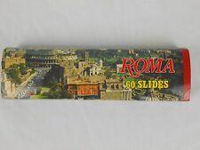 Roma 60 Slides Color Kodak Film Rome Italy Travel Souvenir Vintage