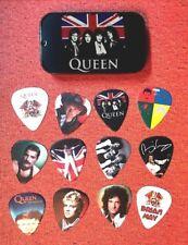 QUEEN Guitar Pick Tin Includes a Set of 12 Guitar Picks