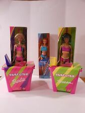 Barbie Surf City & Friends Teresa & Midge Dolls with Pails, Shovels NEW Lot of 3