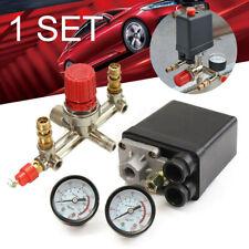 Pressure Meter Regulator Gauges Air Valve Compressor Control Switch 220V pro