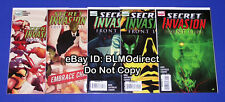 B39 2008 Secret Invasion Front Line 1 2 3 4 5 Full & Complete Run 1 5 1st Print