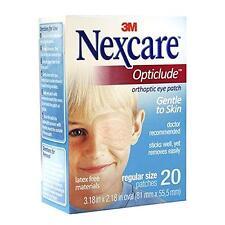 Nexcare Opticlude Orthoptic Eye Patches  Regular Size  20/bx  4bx/cs  3M1539
