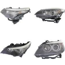 BM2502142 Headlight for 08-10 BMW 535i Driver Side