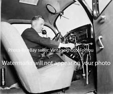 1936 Depression Era Antique DC Metro Police/Cops Car Telephone 2 Way Radio Photo