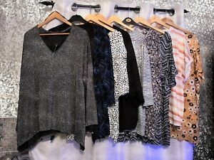 9 x Items Clothing Bundle Joblot Size UK 22/24 BM GEORGE RELAXED ESSENTIALS