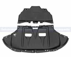 Under Engine Gearbox Cover Undertray + Fitting Kit for Audi A4 B6 B7 2001-2009