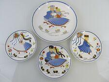 Wandteller WAECHTERSBACH Keramik, HESSEN TRACHT, Ursula Fesca, ca. 1950-60