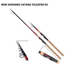 NOVITA' CANNA SHIMANO Catana EX TELESPIN TELESCOPICA MARE FIUME GAMMA COMPLETA