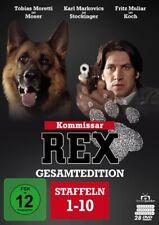 KOMMISSAR REX-GESAMTEDITION STAFFELN 1-10 (ALLE - HAJEK,PETER  28 DVD NEU