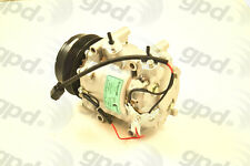Global Parts Distributors 6513016 New Compressor And Clutch