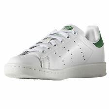 adidas Stan Smith Bambino Scarpe Unisex - White/Green/Green, EU 36 2/3