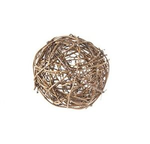 4 Natural grapevine ball measuring 4 in  ship free