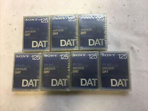 SONY 7X PDP-125c 125min Pro DAT Plus CASSETTEN  KASSETTEN