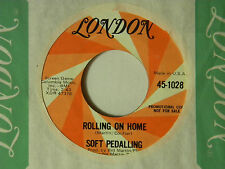 Soft Pedalling 45 ROLLING ON HOME / IT'S SO NICE ~ London 1028 VG++