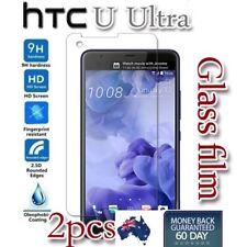 2x HTC U Ultra Tempered Glass LCD Screen Protector Film Guard