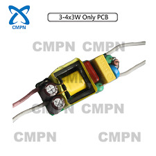 10W LED Light Chip Driver High Power Supply 85-265V Constant Current 600mA PCB