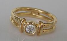 Time to Shine💕Brillant Ring in aus Gold mit Diamant Solitär 0.25 Viertelkaräter