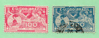 Brazil - Sc# 172 MH(rem) + 173 Used  /   Lot 0420557