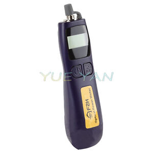 -70~+10 dbm Mini Fiber Optic Power Meter Wavelength 850/1300/1310/1550/1490/1625