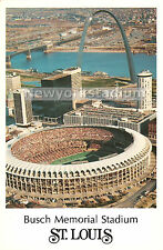 Busch Stadium- Aerial View #8 Postcard -St. Louis Cardinals