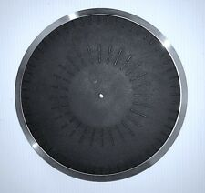 Garrard GT-15 Turntable Platter Assembly & Rubber Record Mat Only, Repair Parts