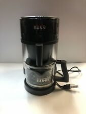 BUNN NHS Velocity Brew Coffee Brewer  10Cup NHS Model Black Store Display Other