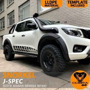 Cobra 4x4 Snorkel kit J-SPEC Fits Nissan Navara NP300 2015 - 2018 D23 Air Intake
