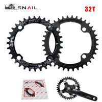 SNAIL 104bcd MTB Narrow Wide Chainring 32T Round Bike Chainwhee 1X System 8-11s