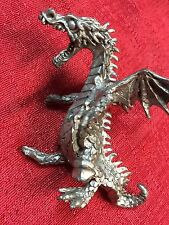 Fantasy Mythical & Magic Pewter Dragon