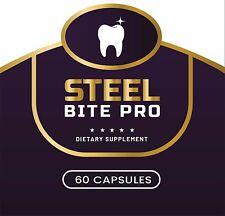 Steel Bite Pro Teeth & Gum Supplement 60 Capsules