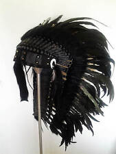 Indianer Federhaube Indianerschmuck Federschmuck Kopfschmuck Headdress 12 Gothic