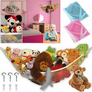 Large Soft Toy Teddy Hammock Mesh Net Baby Childs Bedroom Nursery Tidy Organizer