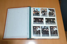 THE BEATLES LENNON McCARTNEY  60s 170 ORIGINAL CHEWING GUM CARDS IN FOLDER