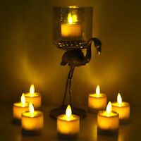 Luminara Tea Lights Set of 4 Flameless Moving Flicker with Timer for Wedding