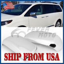 US Chrome Side Rearview Door Mirror Cover Fit for 2011-2015 Toyota Sienna FM